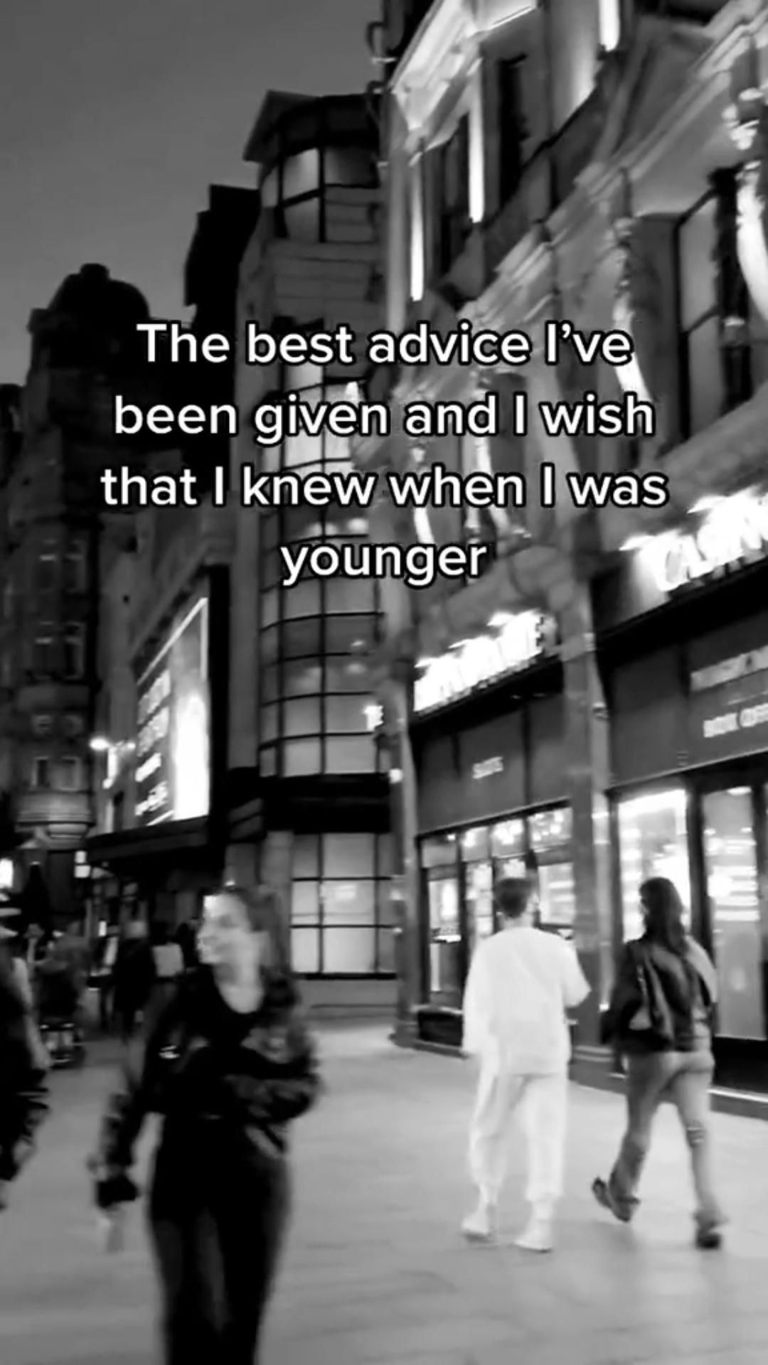 The Best advice for young people