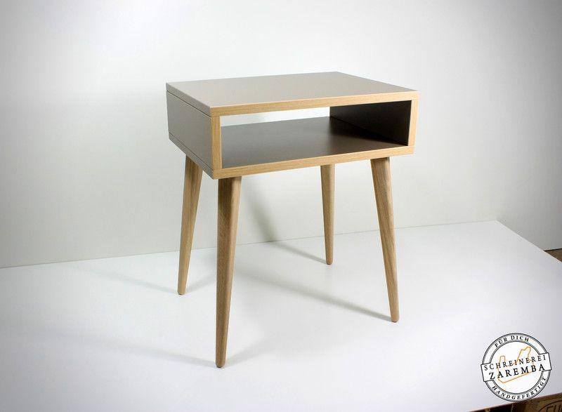 Nachtschranke Beistelltisch Nachttisch Skandinavisches Design