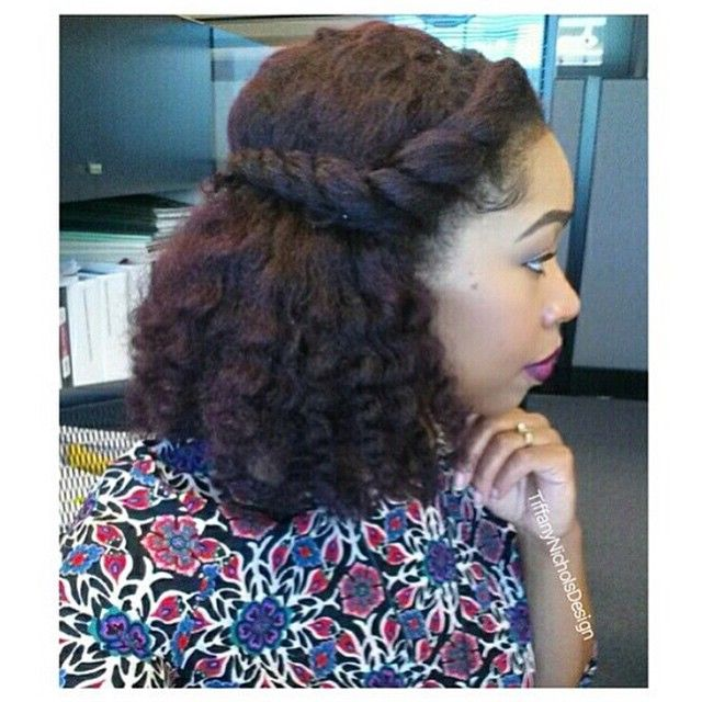 Natural Hairstyles For Work Natural Hair Style  Hair Stylez  Pinterest  Hair Style Natural