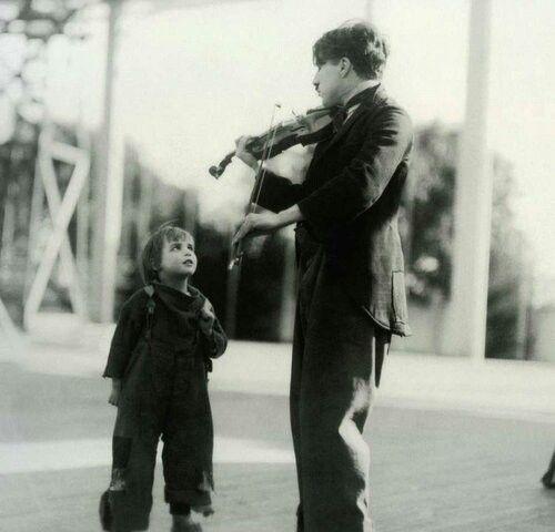 Charlie Chaplin & Jackie