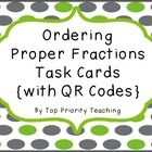This purchase includes 15 fraction question cards.  Students read each card and record their answer on the recording sheet.
