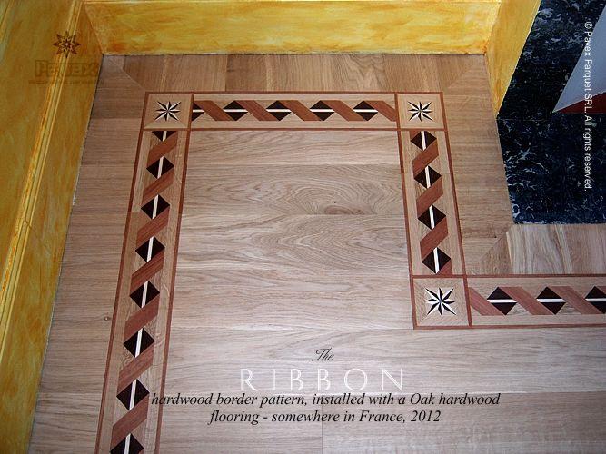 No 54 A Borda De Madeira De Fita Instalacao Franca 2012 Oak Hardwood Flooring Hardwood Floor Tile Design
