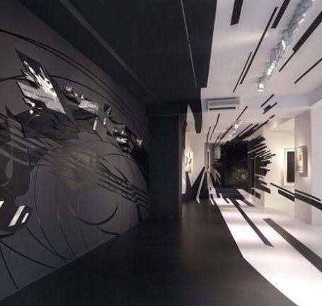 Innenarchitektur Lehre zaha hadid the interior design gallery in zurich desinger zaha