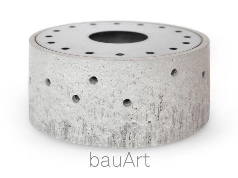 teelichthalter st vchen minimal aus beton ein designerst ck von bauart bei dawanda. Black Bedroom Furniture Sets. Home Design Ideas