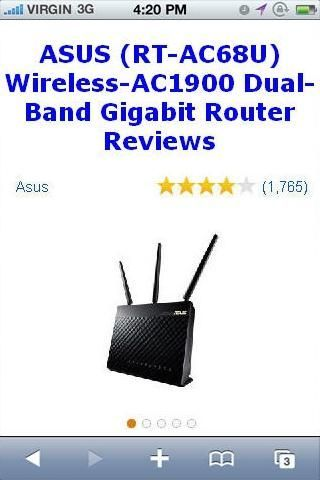 Asus rt ac68u wireless ac1900 dual band gigabit router reviewsbr asus rt ac68u wireless ac1900 dual band gigabit router reviewsbraverage customer review 41 out of 5 starspget an ultra fast internet connection when keyboard keysfo Images