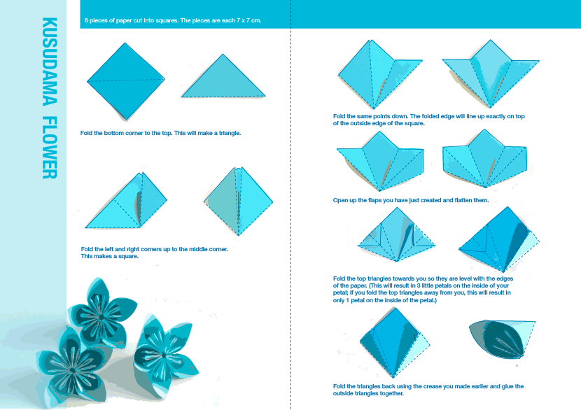 How to do an origami flower 1 food pinterest origami flower how to do an origami flower 1 mightylinksfo