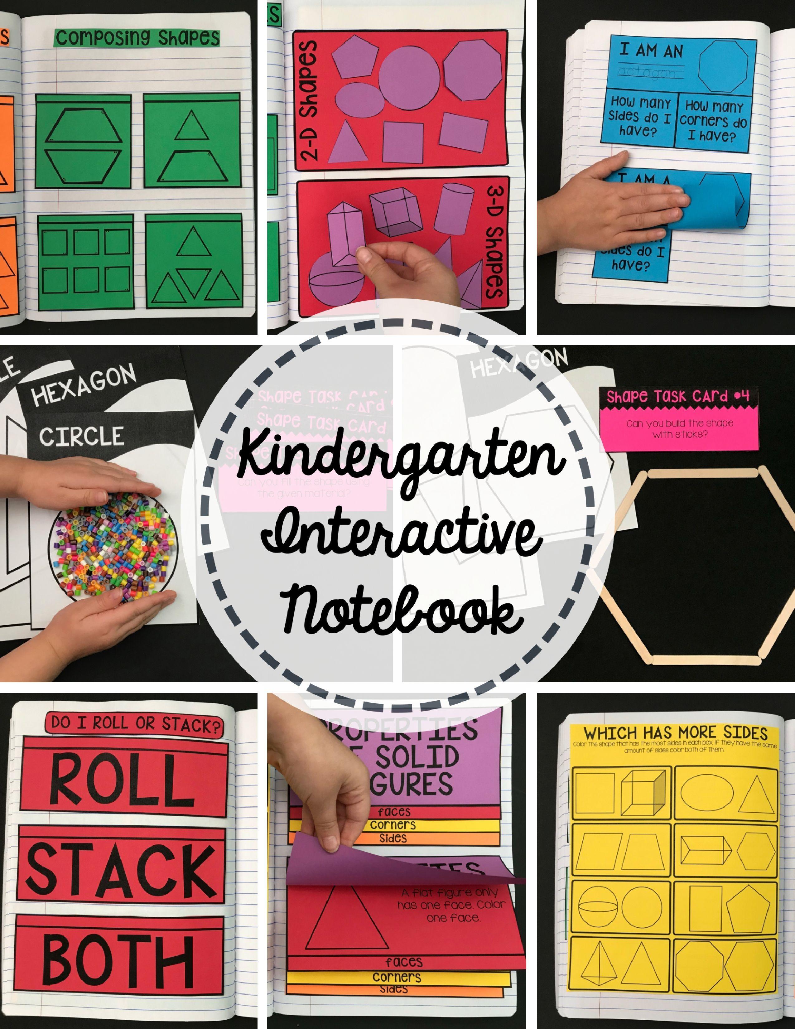 Kindergarten Common Core Math Interactive Notebook