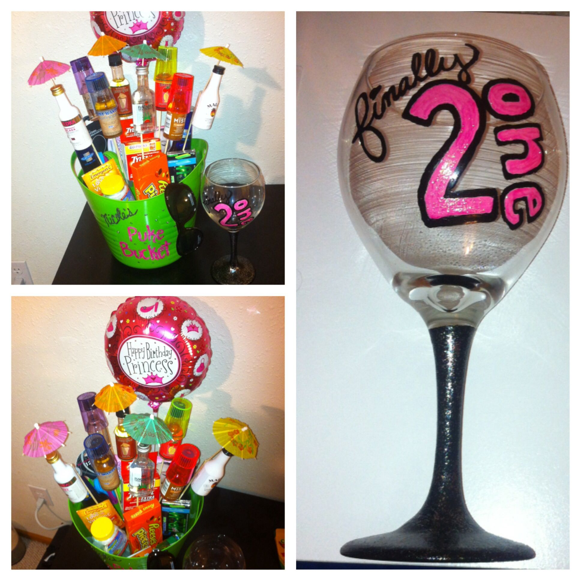 Birthday gifts for 21 year old women diy pinterest