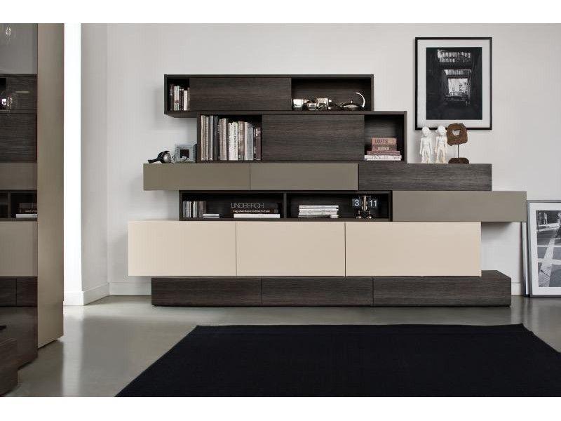 Buffet design 2 portes et 4 tiroirs pour #salon, #salle à manger