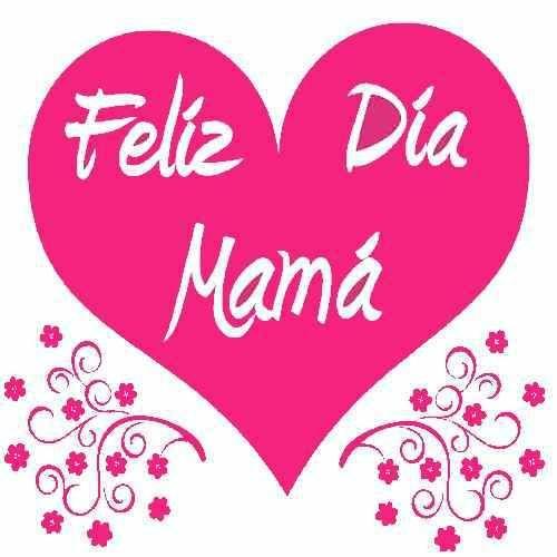Imagen De Corazones Feliz Dia Mama M At Má Felíz Imágenes De Feliz