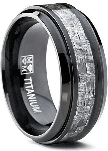 Pin on Carbon Fiber Rings