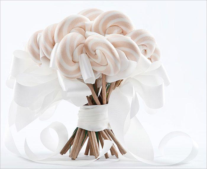 Designer Lollipop Bouquets Bridesmaids