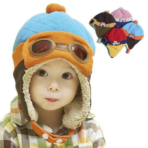 6a37d63322cff 子供帽子 帽子 キャップ 飛行帽 耳あて付き 秋冬 防寒 キッズ 1-4歳子供用 可愛い yu410-mz06
