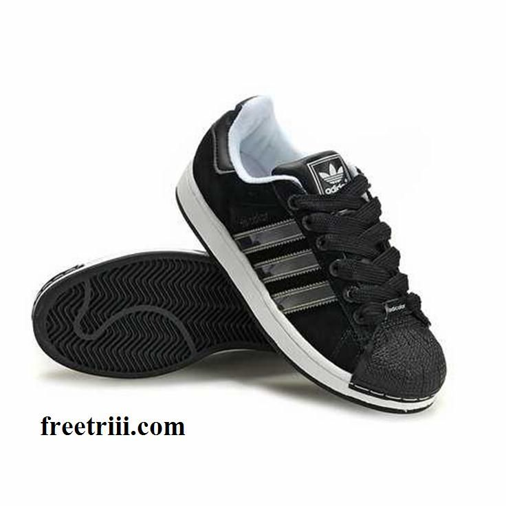addidas shoes for men shell top | Adidas Adicolo Shoes Leather Black White  For Men Top