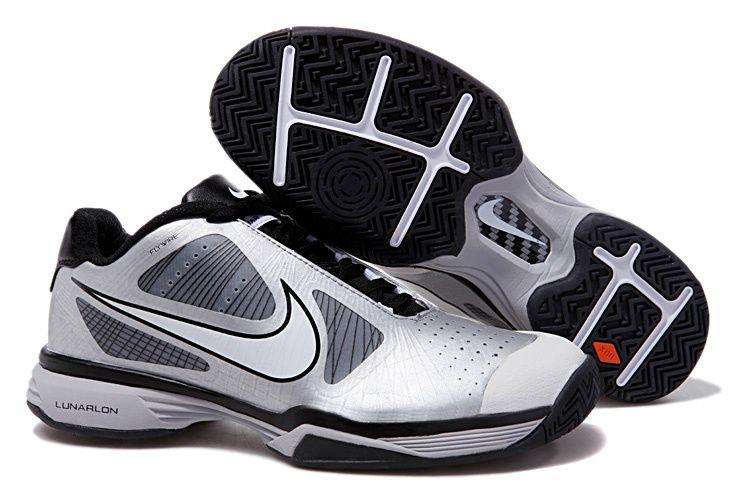 c60460901e97 Wholesale Roger Federer Shoes Nike Lunar Vapor 8 Tour 429991 107 Silver  Black for cheap,Nike Roger Federer Shoes for sale,Nike Roger Federer Shoes  on ...