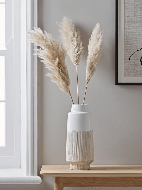 Nieuwe Weerstaan Glaze Vaas Slim Home Decor Decor Vases Decor