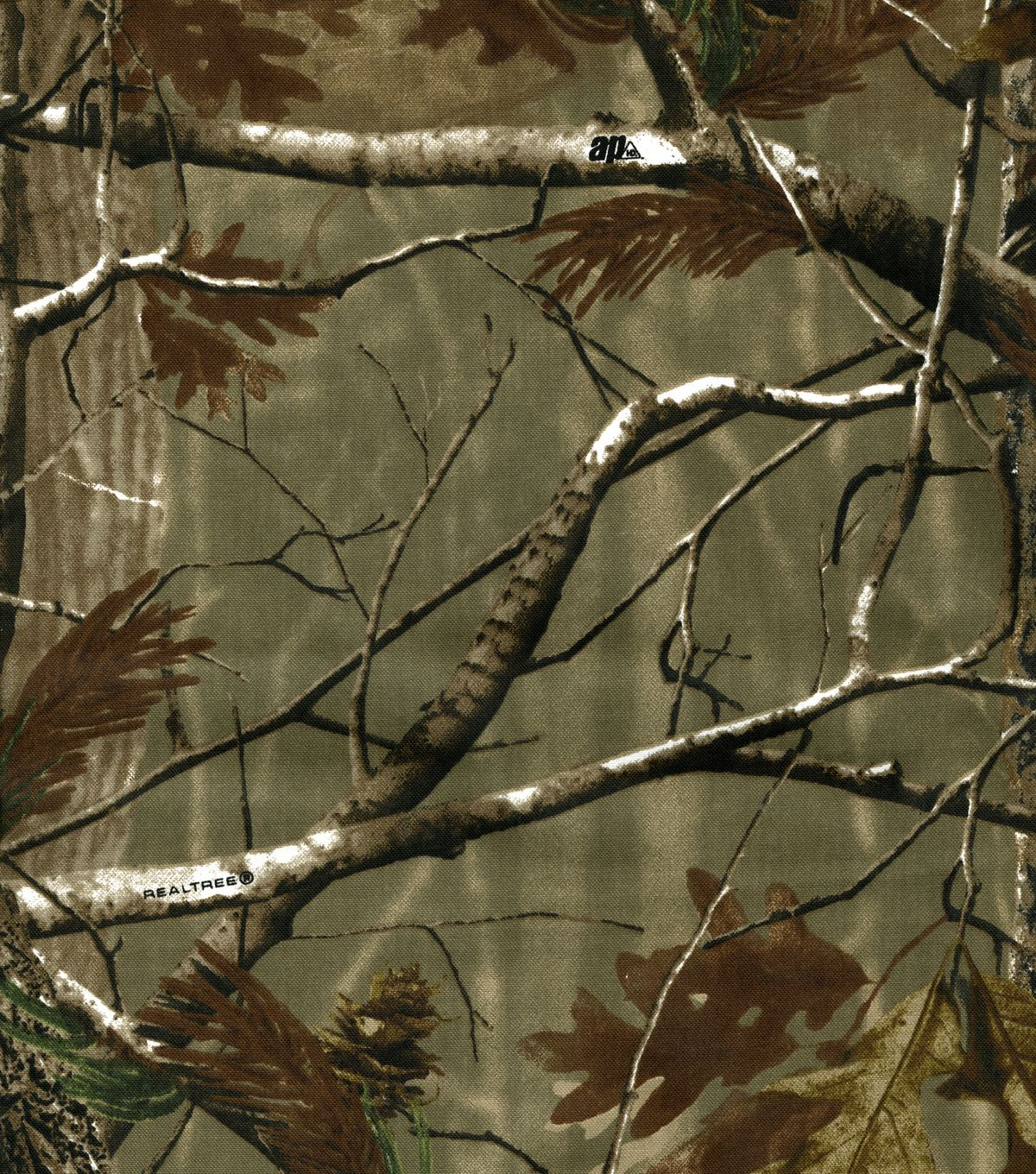 Realtree Duck Cloth Fabric Camouflage Real tree