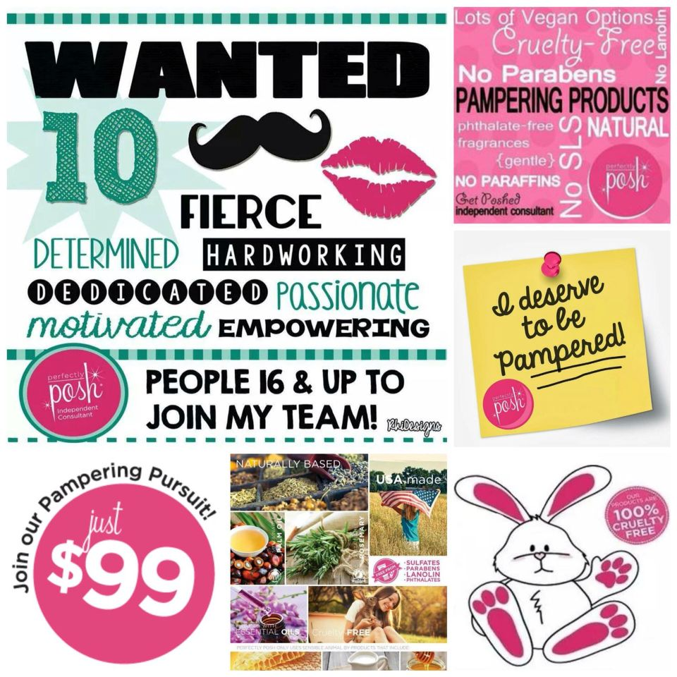 PERFECTLY POSH Naturally based line of fun, affordable