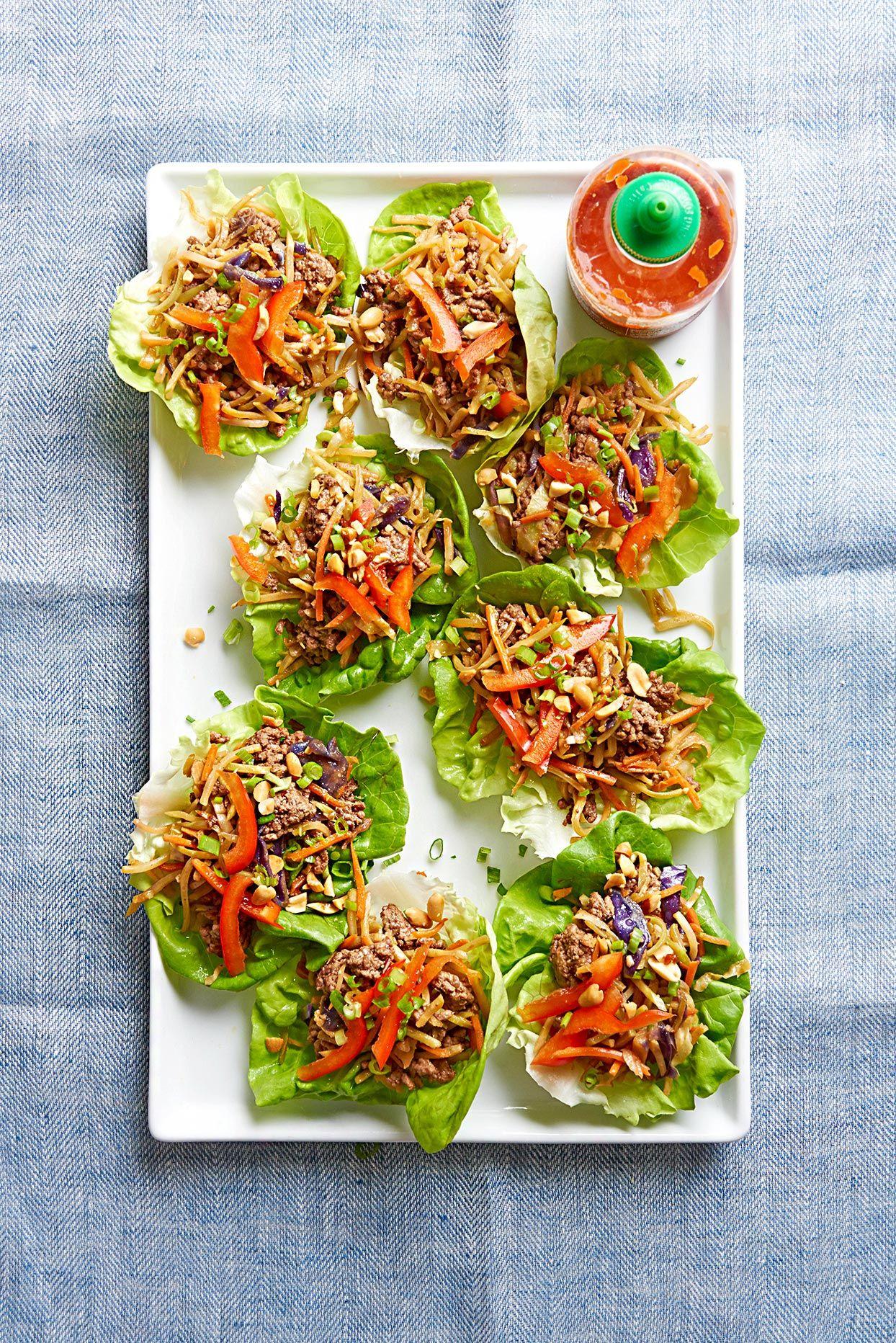 Korean Beef Lettuce Wraps Recipe In 2020 Ground Beef Recipes Healthy Healthy Ground Beef Ground Beef Recipes