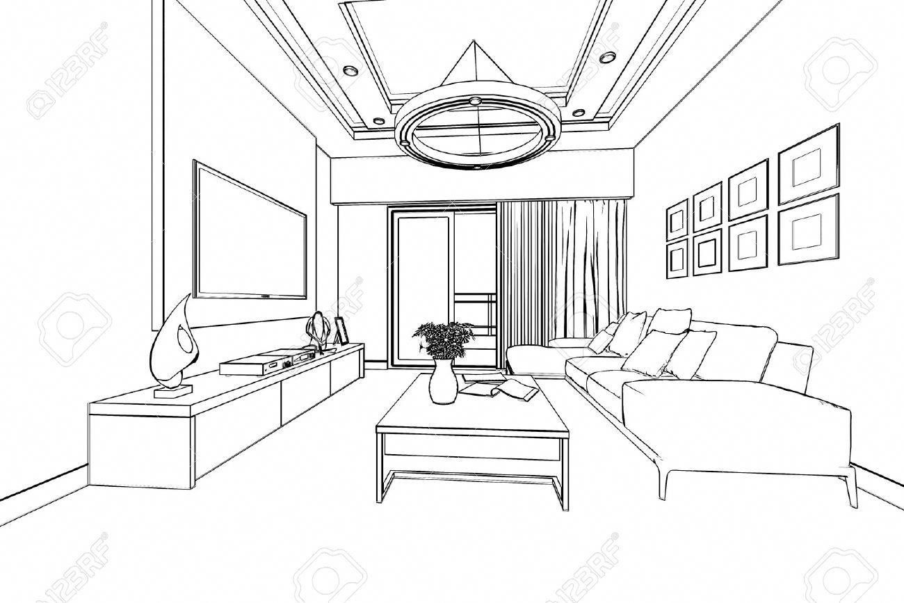 Pin By Mirna Berjawi On Perspective In 2020 Interior Architecture Drawing Interior Design Presentation Perspective Room