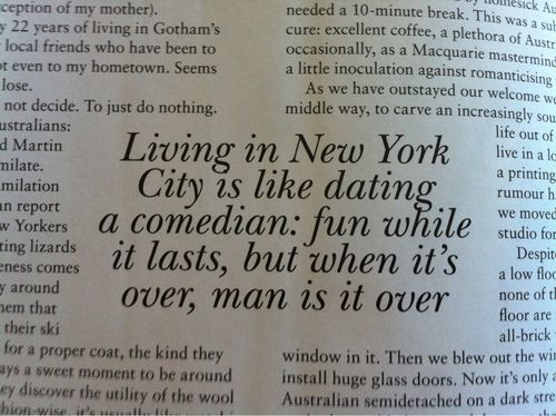 Quotes about dating in new york