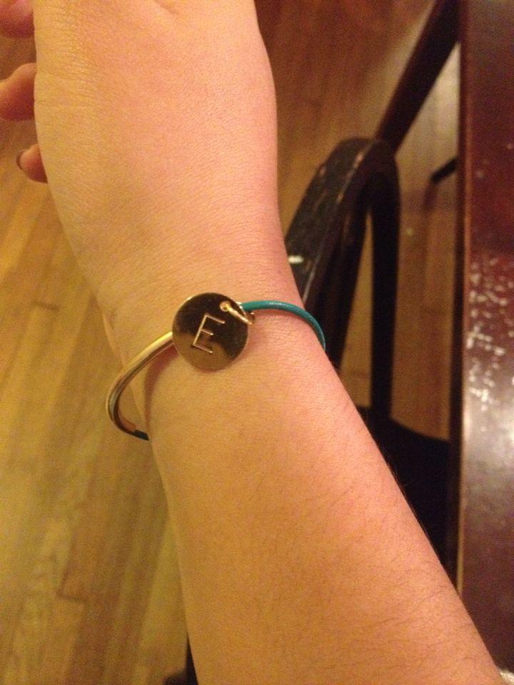My new bracelet for my birthday (: