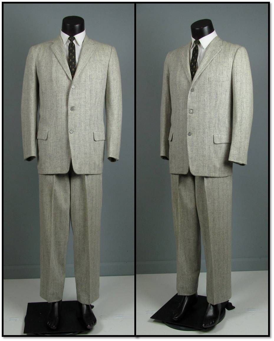 Suit Tailored By Burton Late 1950s.
