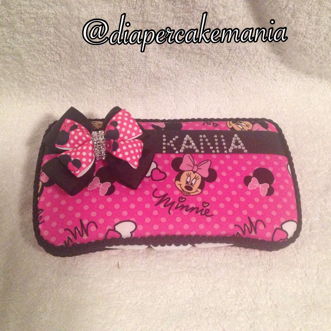 Minnie Mouse travel wipe case. 7542279804 Wet wipes case