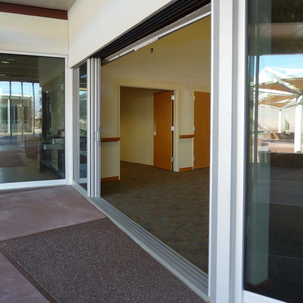 Beau Center Opening Sliding Glass Patio Doors