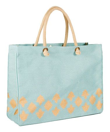 Another great find on #zulily! Sky & Gold Nantes Glamour Juco Bag #zulilyfinds