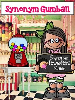 Synonym Gumball Interactive Power Point Game To Use Individually Or As A Class Powerpoint Games Interactive Powerpoint Synonym Find plethora synonyms list of more than 15 words on pasttenses thesaurus. synonym gumball interactive power point