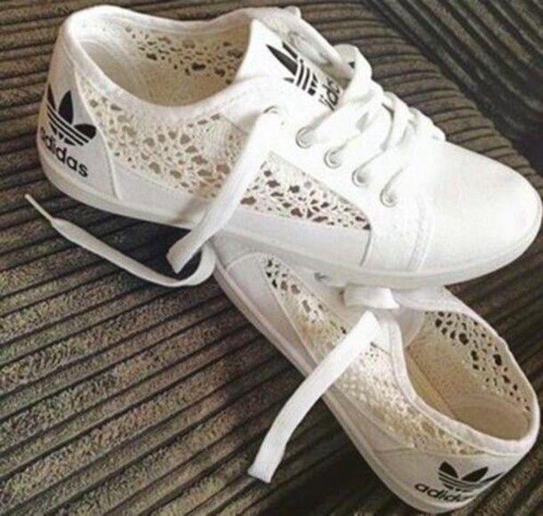 difícil de complacer Latón Derribar  Adidas | Tenis con estilo, Zapatos de encaje, Zapatos adidas