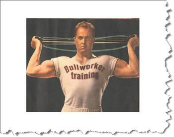 the bullworker  no equipment workout isometric exercises