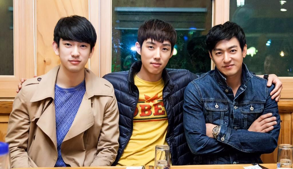 JTBC 사랑하는 은동아 3현수 모임   우리 지녕오빠가 젤 잘생겼다 ㅠㅠ  #GOT7 #갓세븐 #진영 #주니어 #Junior
