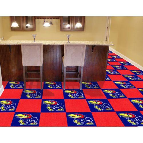 Fanmats Ncaa Team 18 X 18 Carpet Tile Carpet Tiles Sports Themed Room Tiles