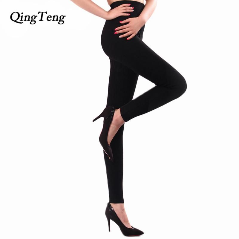 Cashmere Wool Knitted Pant Winter Fashion Warm Slim Leggings