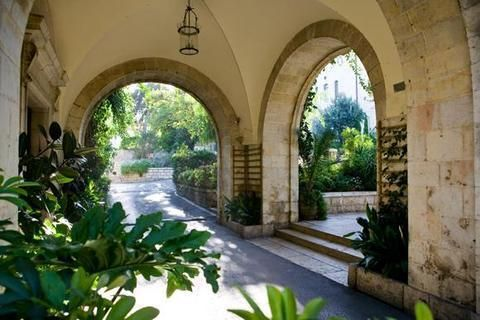 *JERUSALEM~The American Colony Hotel Entrance