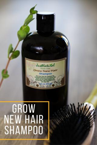 Grow New Hair Shampoo Cabello saludable, Tratamiento