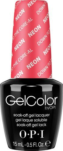 OPI Gel GCN38 Down to the Core-al (NEON)