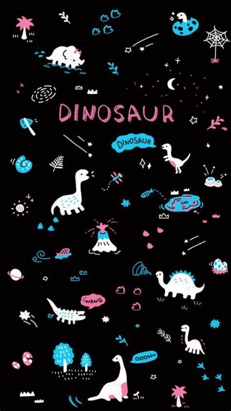Pink Dinosaurs💕 | Dinosaur Wallpaper, Wallpaper Iphone