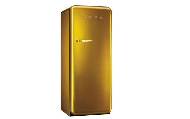 Smeg Kühlschrank Gold : Smeg kühlschrank in gold golden 20ies küche pinterest gold