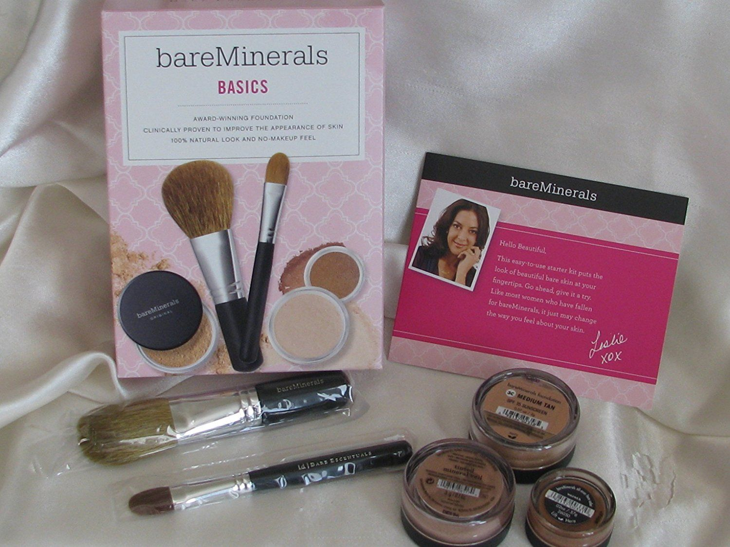 Bareminerals Basics Kit Of 5 Medium Tan Foundation Warmth Mineral