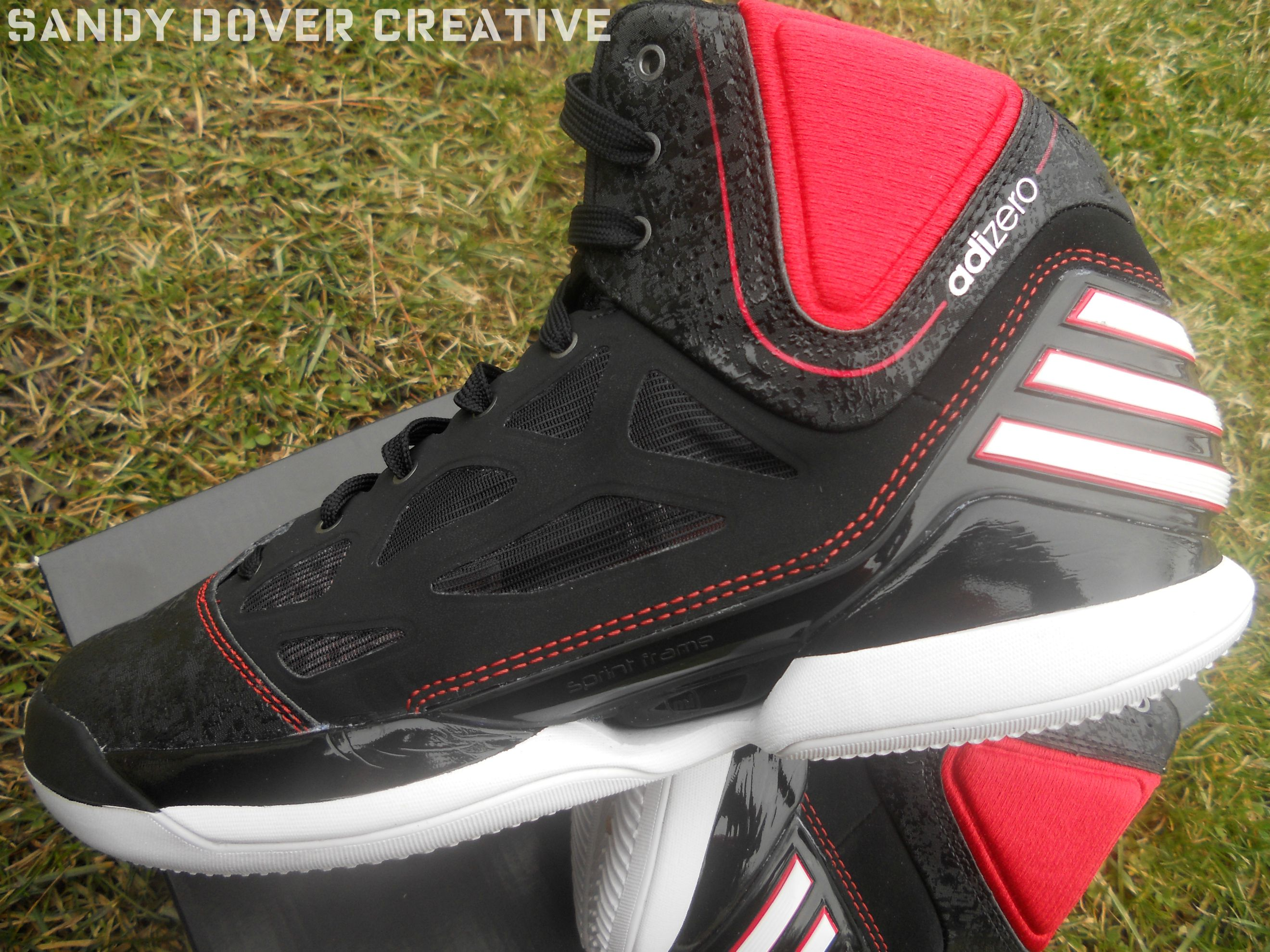 low priced 714dd af7a6 The adidas adiZero Rose 2.5 by Sandy Dover Creative httpwww.facebook