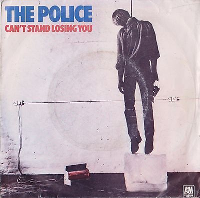 """POLICE Can't Stand Losing You 1978 Portugal Rare 7"""" 45 Vinyl Record PAMS7381"""