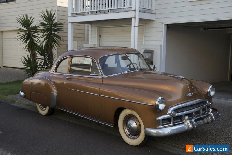 1949 Chevy Styleline Deluxe Coupe Chevrolet Forsale Australia Coupe Chevy Camaro Price