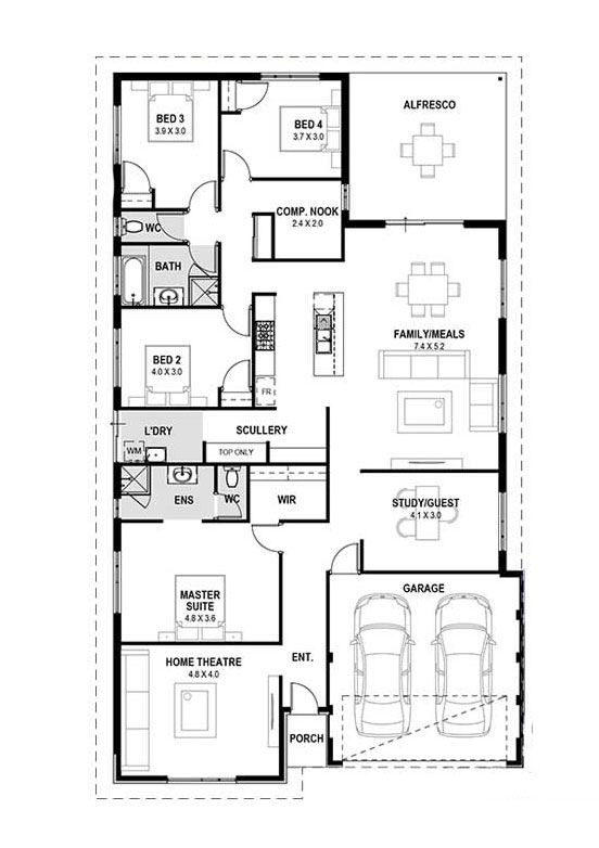 My lawley single home design perth house wa also more rh pinterest
