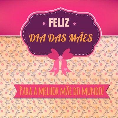 Feliz Dia Das Mães Cartões Comemorativos Pinterest Happy