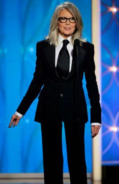 Best Dressed Golden Globes 2014 | Diane Keaton