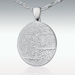 Fingerprint made into Jewelry A great way to remember a loved one