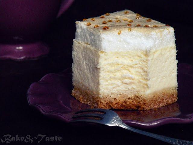 Bake&Taste: Sernik 'Złota rosa' na kruchym spodzie